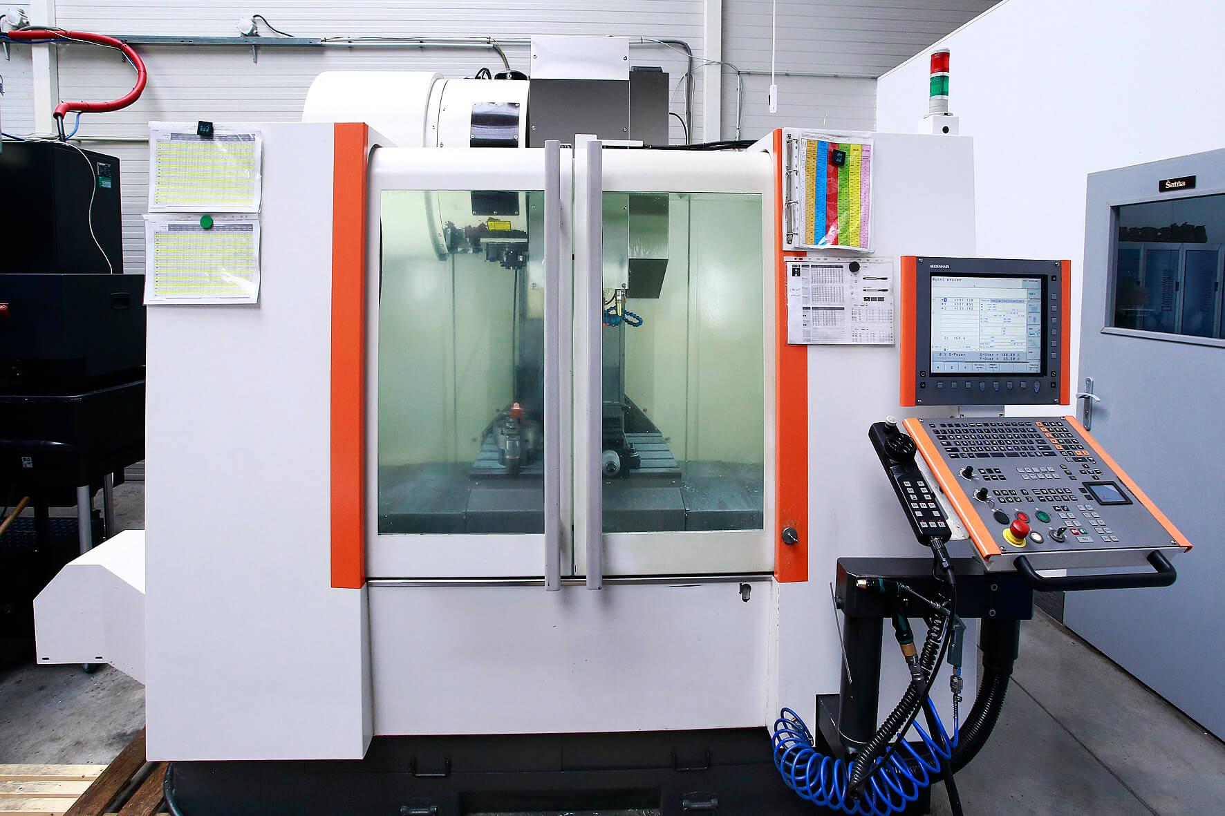 CNC Fréza Mikron VCE600Pro